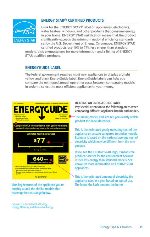 Maui Electric - Energy Tips & Choices - Page 34-35